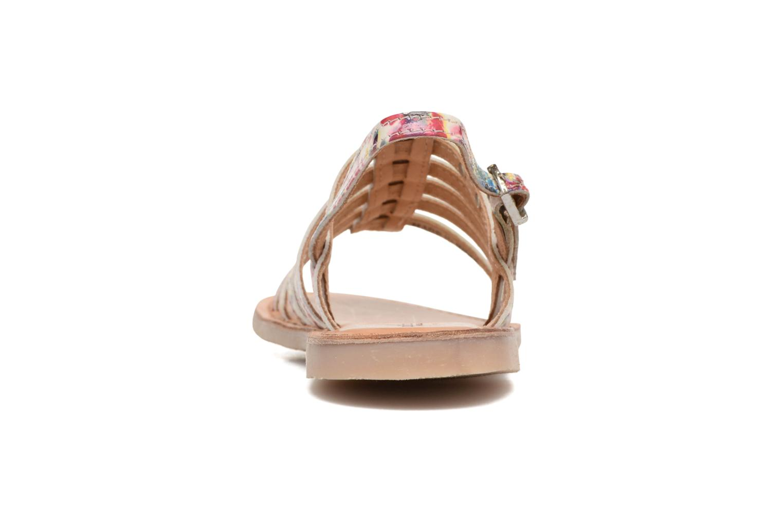 Sandales et nu-pieds Les Tropéziennes par M Belarbi Manga Multicolore vue droite