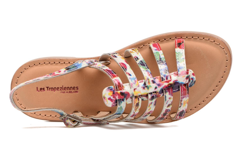 Sandales et nu-pieds Les Tropéziennes par M Belarbi Manga Multicolore vue gauche
