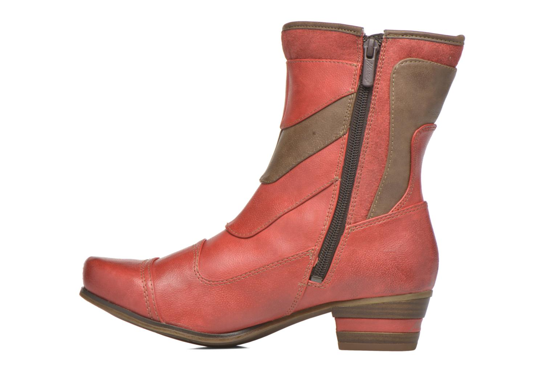 Bottines et boots Mustang shoes Anita Rouge vue face