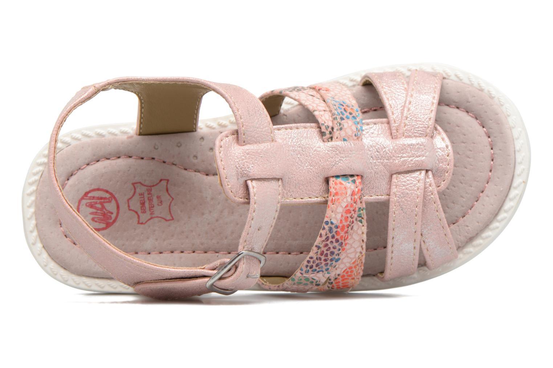 Sandales et nu-pieds NA! Adelicia Rose vue gauche
