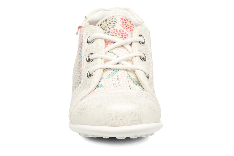 Chaussures à lacets NA! Acelle Blanc vue portées chaussures