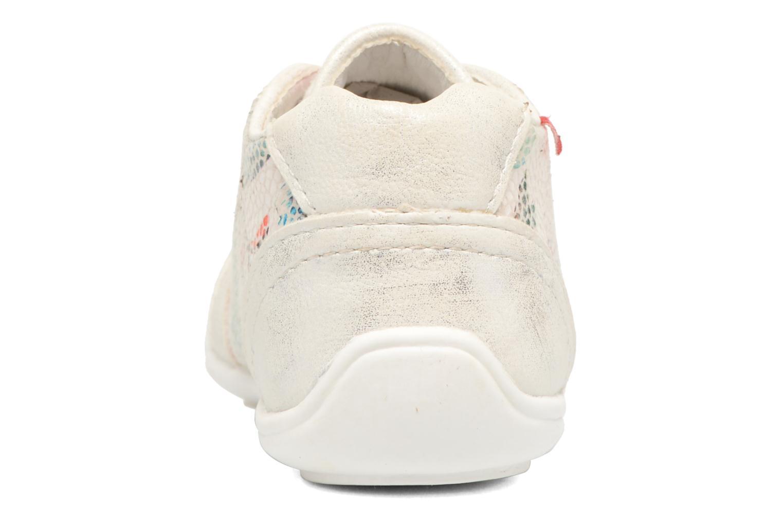 Chaussures à lacets NA! Acelle Blanc vue droite