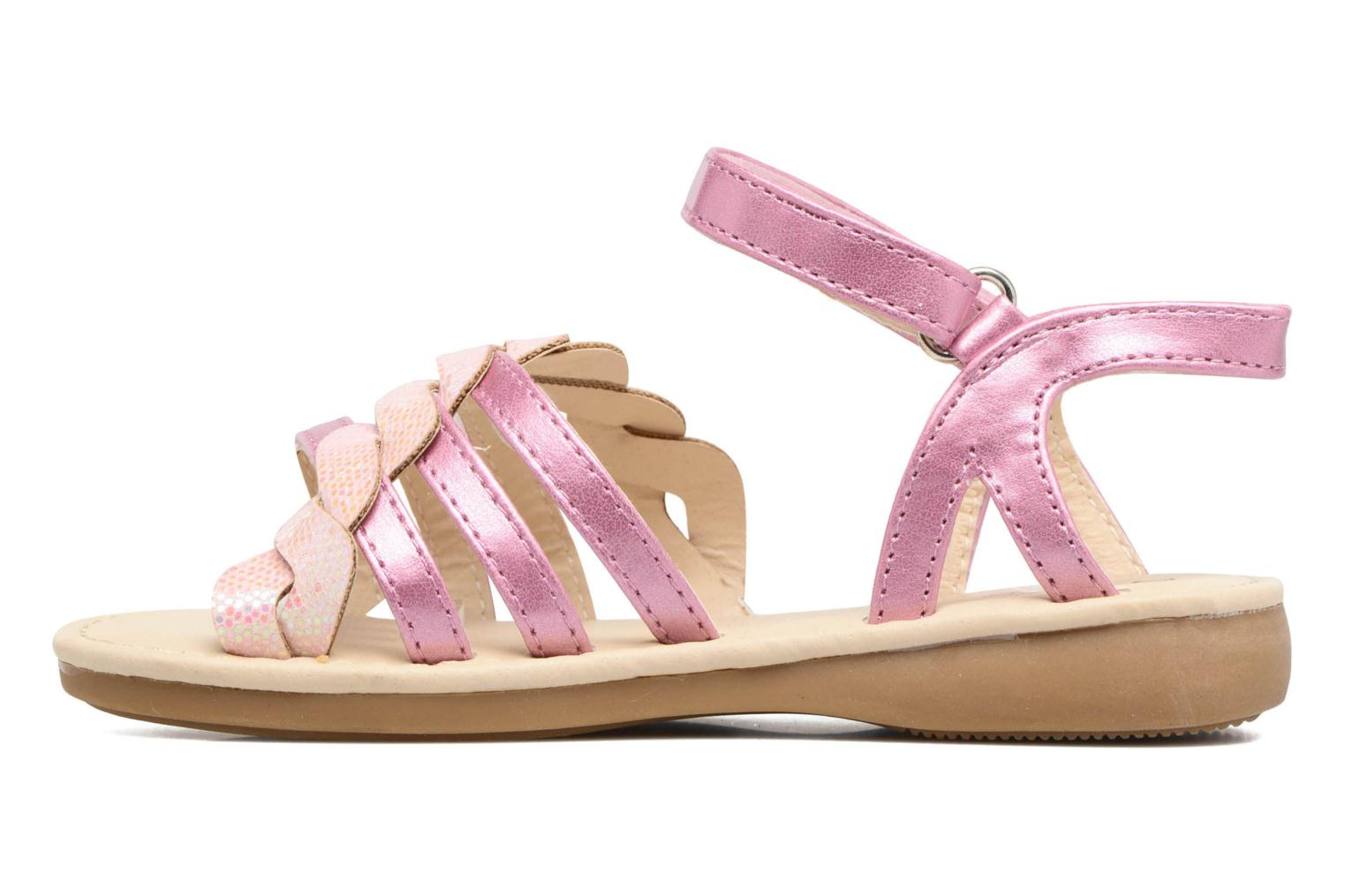 Sandals NA! Feerie Pink front view