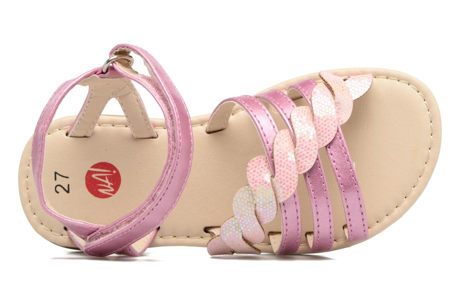 Sandals NA! Feerie Pink view from the left