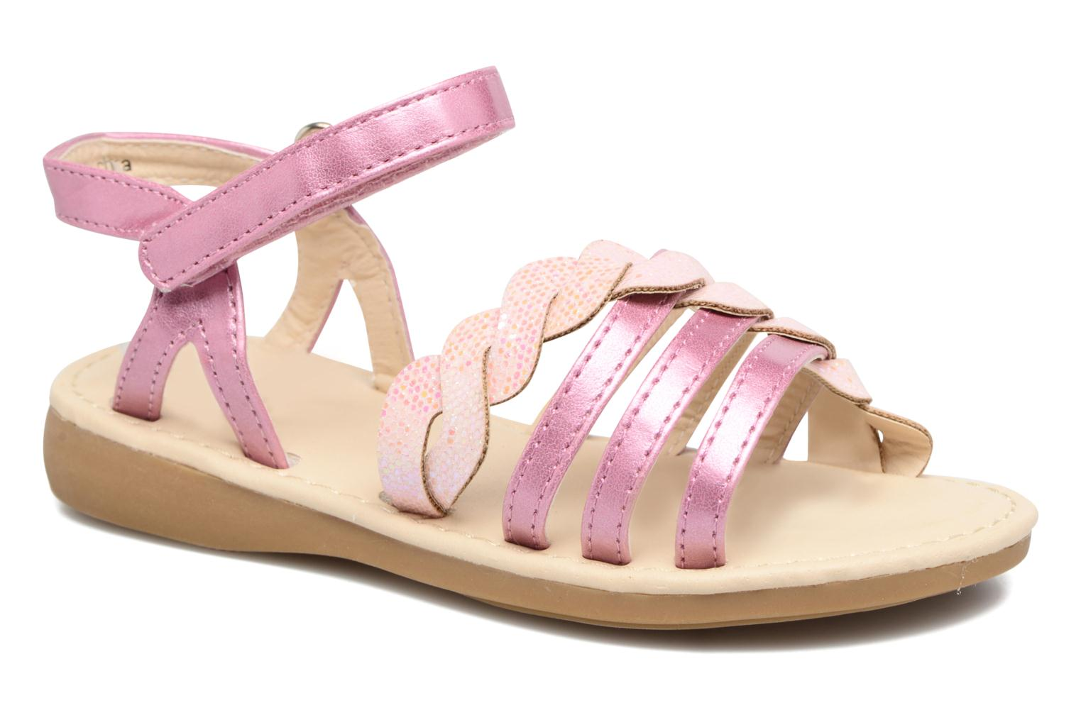 Sandals NA! Feerie Pink detailed view/ Pair view