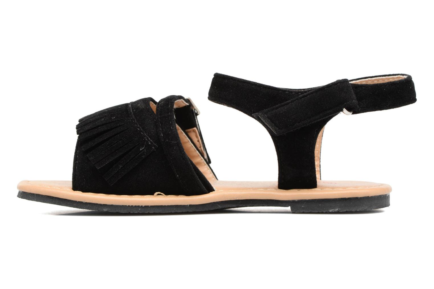Sandals NA! Rubis Black front view