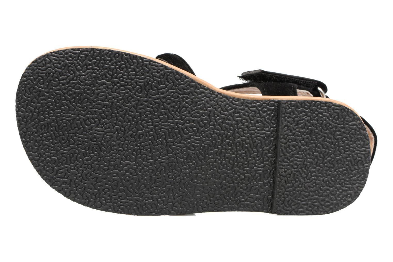 Sandales et nu-pieds NA! Rubis Noir vue haut