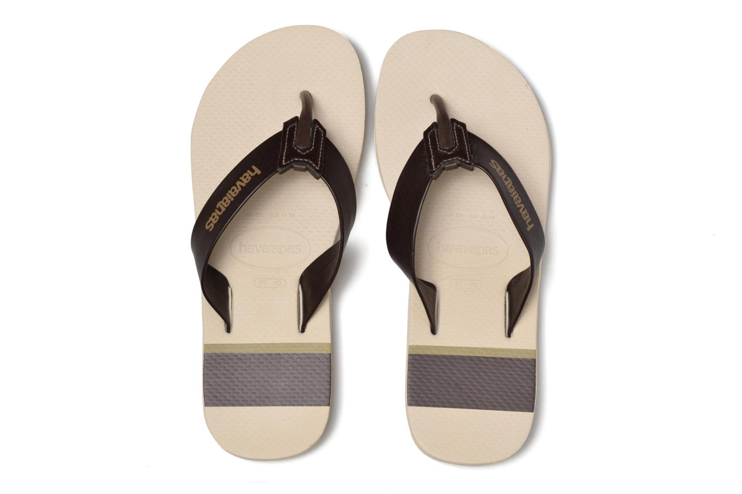 Chanclas Havaianas Urban Craft Beige vista 3/4