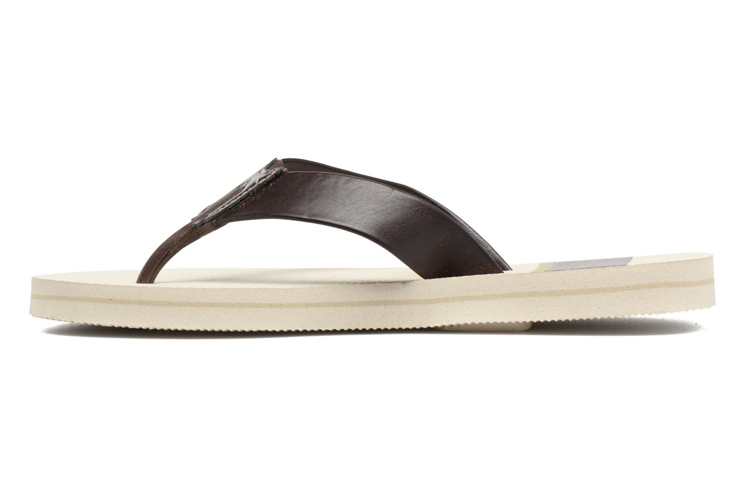 Chanclas Havaianas Urban Craft Beige vista de frente