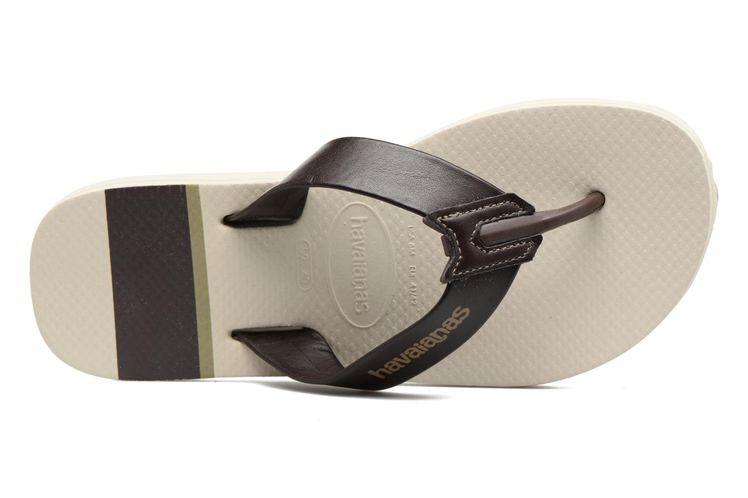 Chanclas Havaianas Urban Craft Beige vista lateral izquierda
