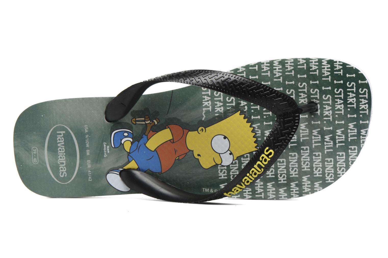 Tongs Havaianas Simpsons Gris vue gauche