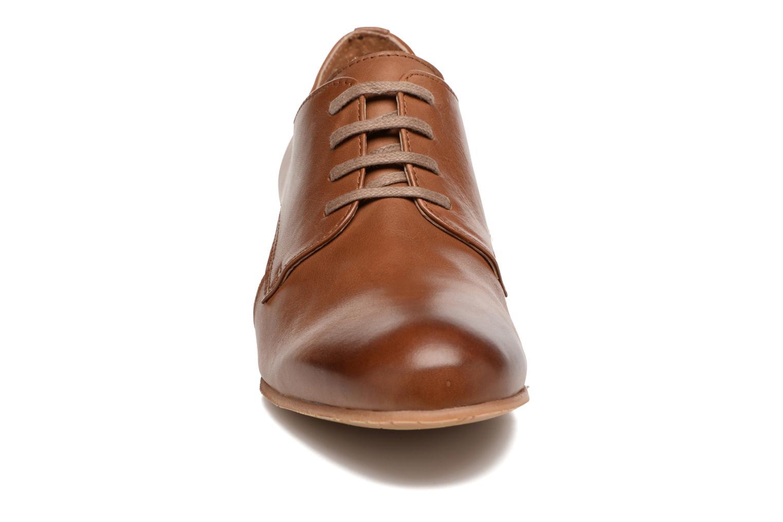 Chaussures à lacets Georgia Rose Celange Marron vue portées chaussures