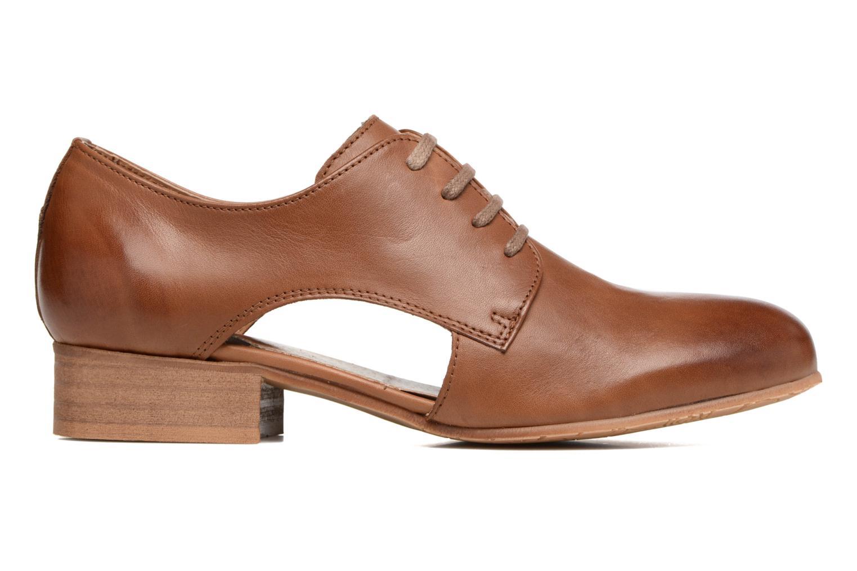 Chaussures à lacets Georgia Rose Celange Marron vue derrière