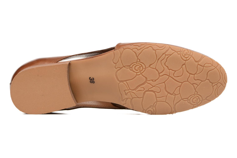 Chaussures à lacets Georgia Rose Celange Marron vue haut