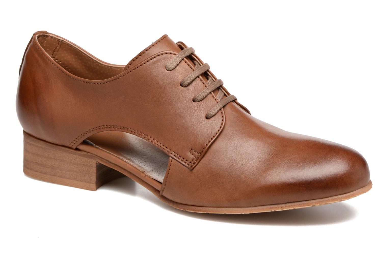 Chaussures à lacets Georgia Rose Celange Marron vue détail/paire