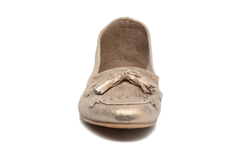 Mocassins Georgia Rose Cepom Or et bronze vue portées chaussures
