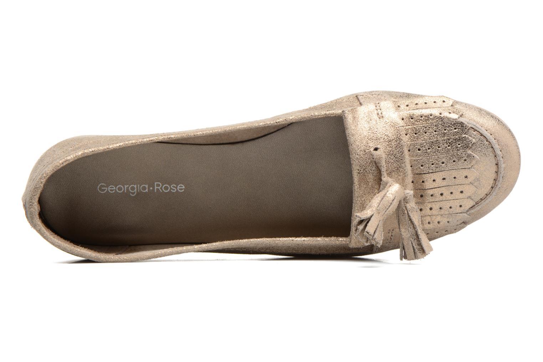 Mocassins Georgia Rose Cepom Or et bronze vue gauche