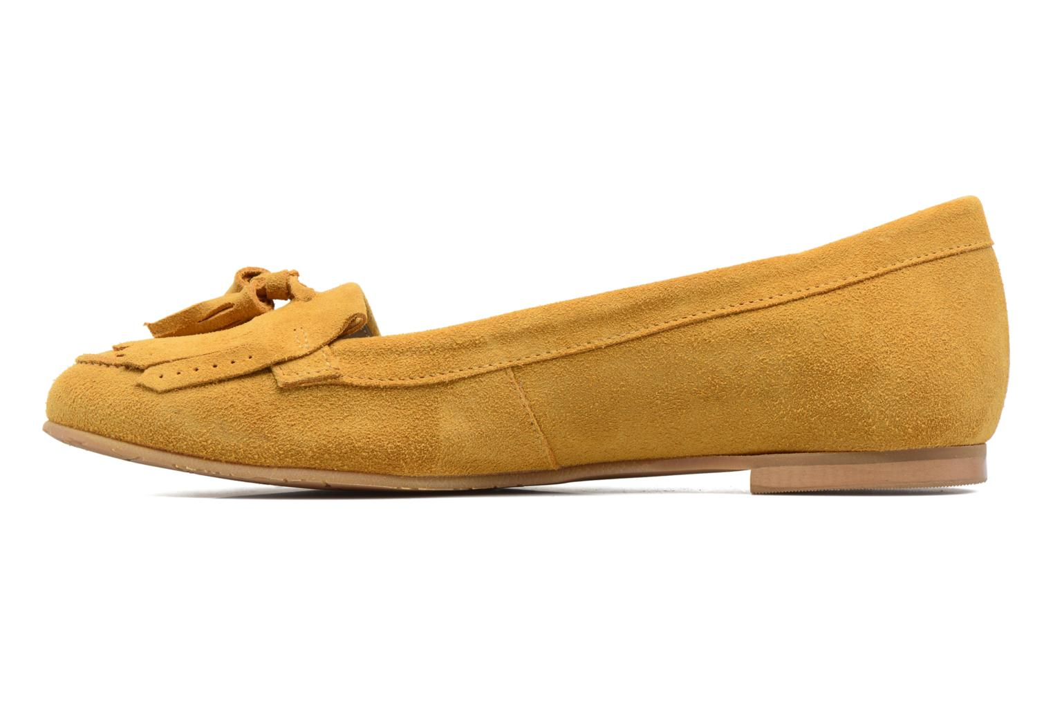 Loafers Georgia Rose Cepom Yellow front view