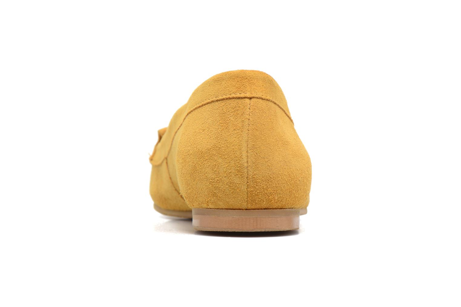 Loafers Georgia Rose Cepom Yellow view from the right