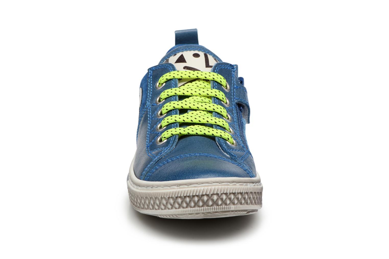 Baskets Romagnoli Adriano Bleu vue portées chaussures