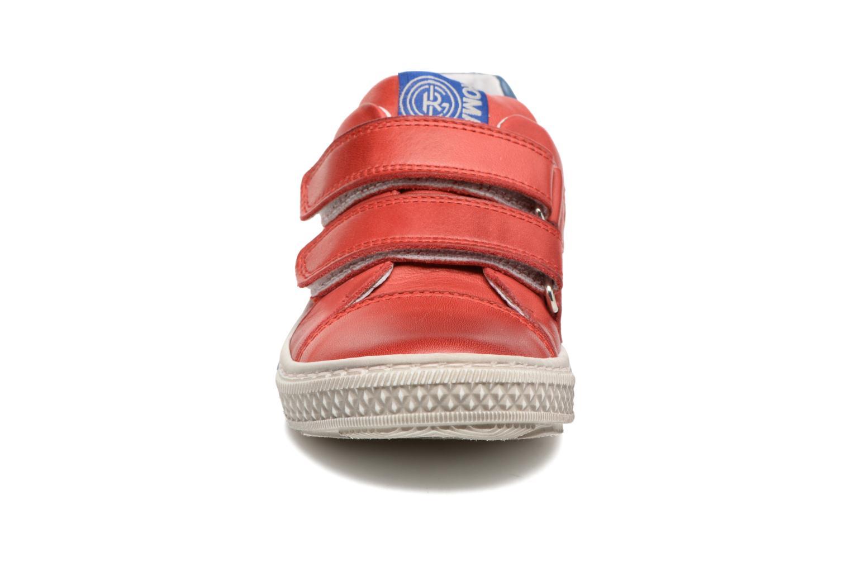 Baskets Romagnoli Claudio Rouge vue portées chaussures