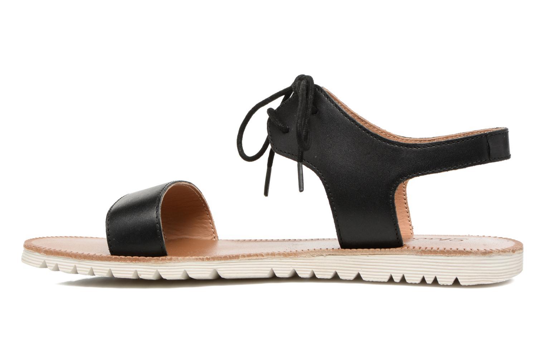 Sandales et nu-pieds Shwik Nova Lace Noir vue face