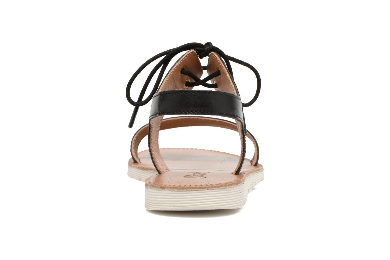 Sandales et nu-pieds Shwik Nova Lace Noir vue droite