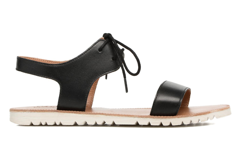 Sandales et nu-pieds Shwik Nova Lace Noir vue derrière