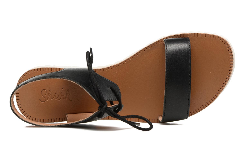 Sandales et nu-pieds Shwik Nova Lace Noir vue gauche