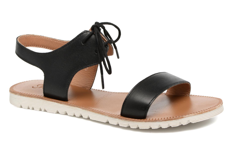 Sandales et nu-pieds Shwik Nova Lace Noir vue détail/paire