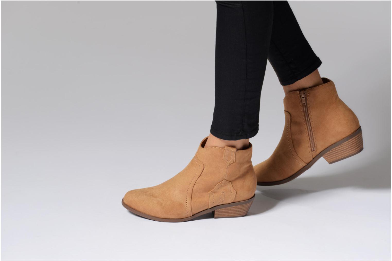 Bottines et boots Dorothy Perkins Madds Jaune vue bas / vue portée sac