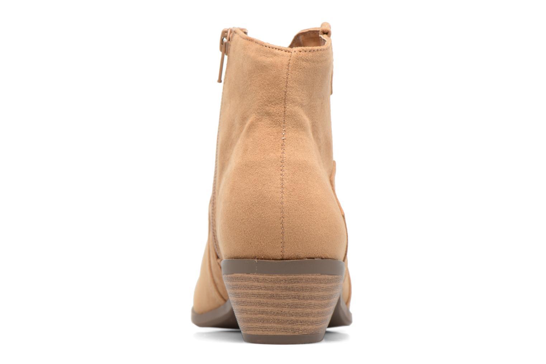 Bottines et boots Dorothy Perkins Madds Jaune vue droite
