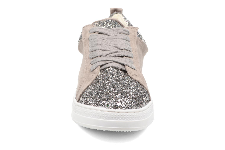 Baskets Dorothy Perkins Icon Gris vue portées chaussures