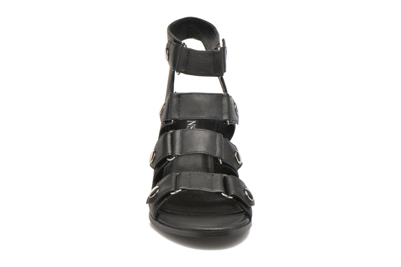 Sandales et nu-pieds SENSO Stella Noir vue portées chaussures