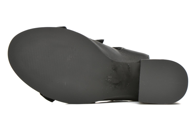 Sandales et nu-pieds SENSO Stella Noir vue haut