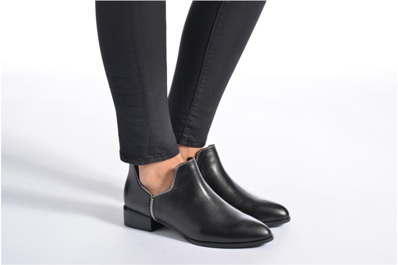 Bottines et boots SENSO Bailey V Noir vue bas / vue portée sac