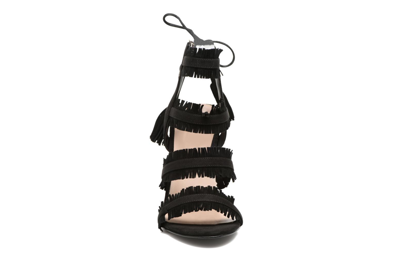 Sandales et nu-pieds Guess Econi Noir vue portées chaussures