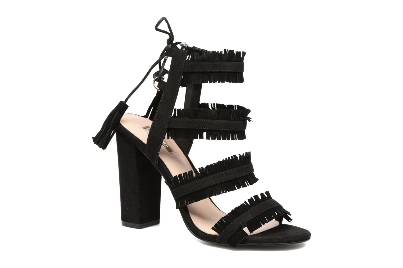 Grandes descuentos últimos zapatos Guess Econi (Negro) - Sandalias Descuento