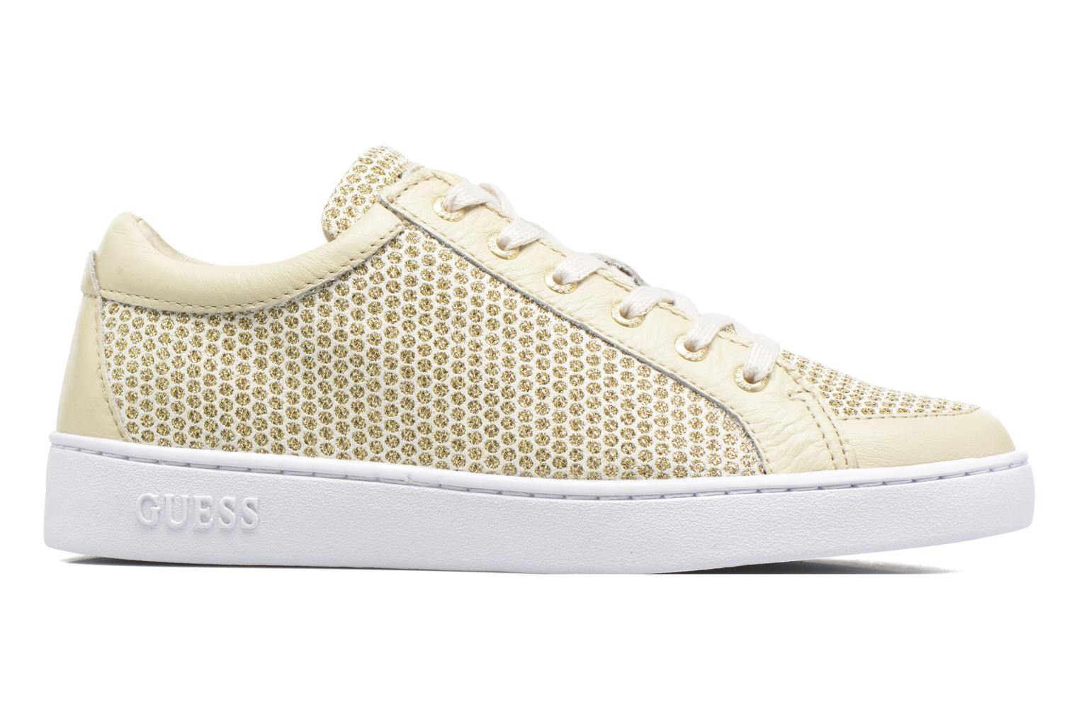 Trainers Guess Glinna 2 Bronze and Gold back view