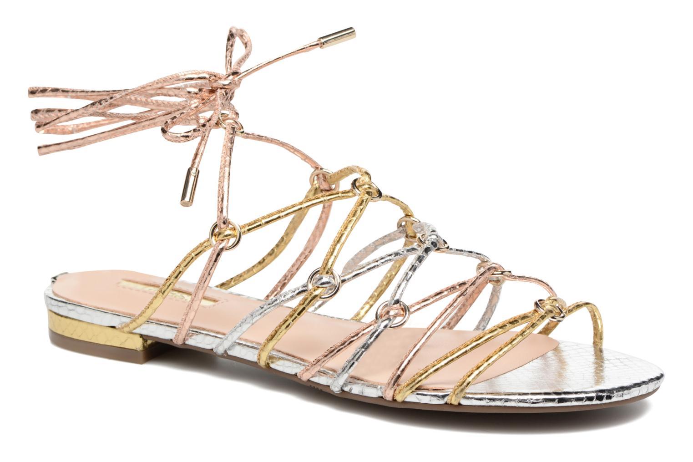 Sandales et nu-pieds Guess Racha Argent vue détail/paire