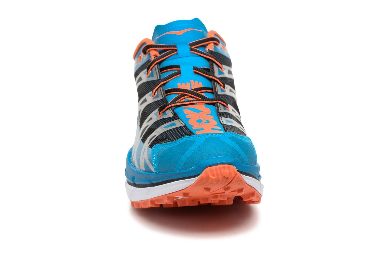 Chaussures de sport Hoka One One Speedgoat Bleu vue portées chaussures