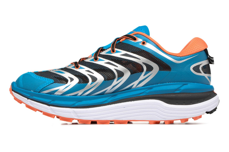 Chaussures de sport Hoka One One Speedgoat Bleu vue face