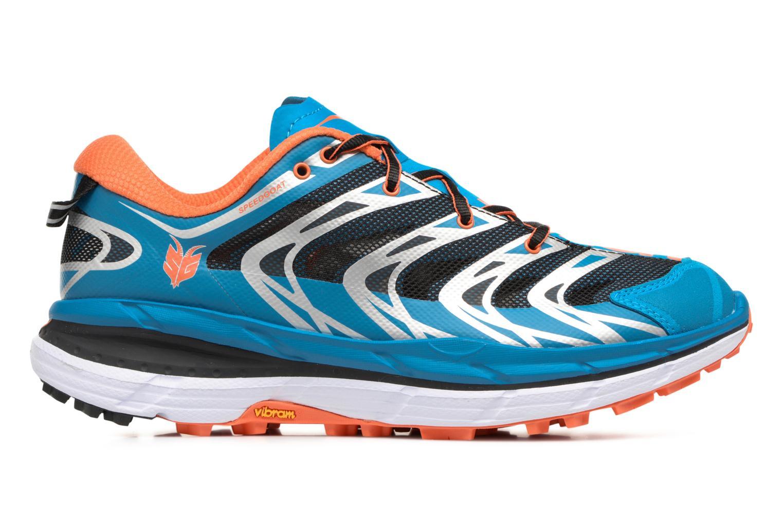 Chaussures de sport Hoka One One Speedgoat Bleu vue derrière