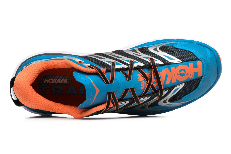 Chaussures de sport Hoka One One Speedgoat Bleu vue gauche