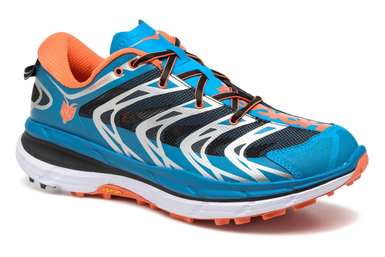 Chaussures de sport Hoka One One Speedgoat Bleu vue détail/paire