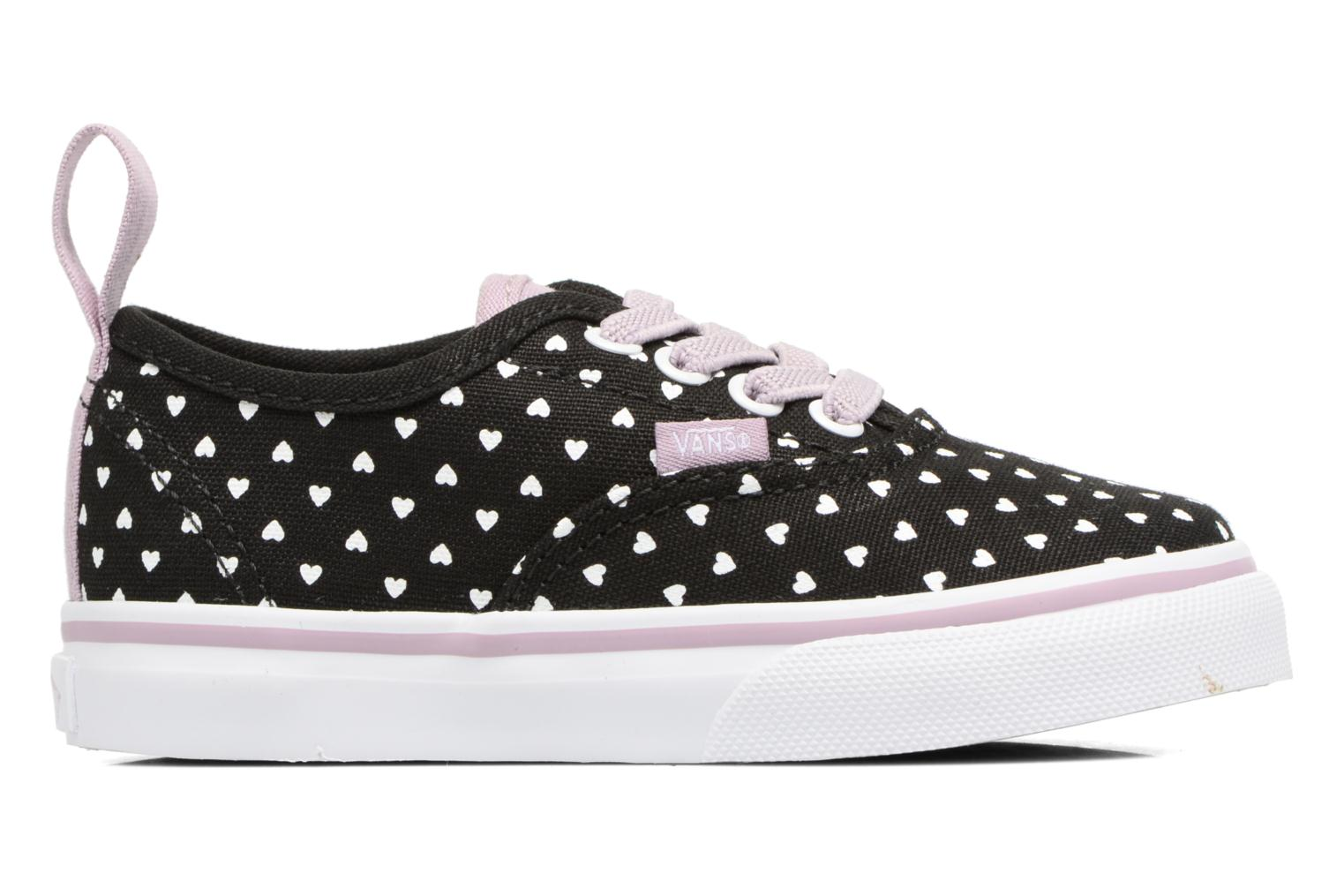 Trainers Vans Authentic Elastic Lace BB Black back view