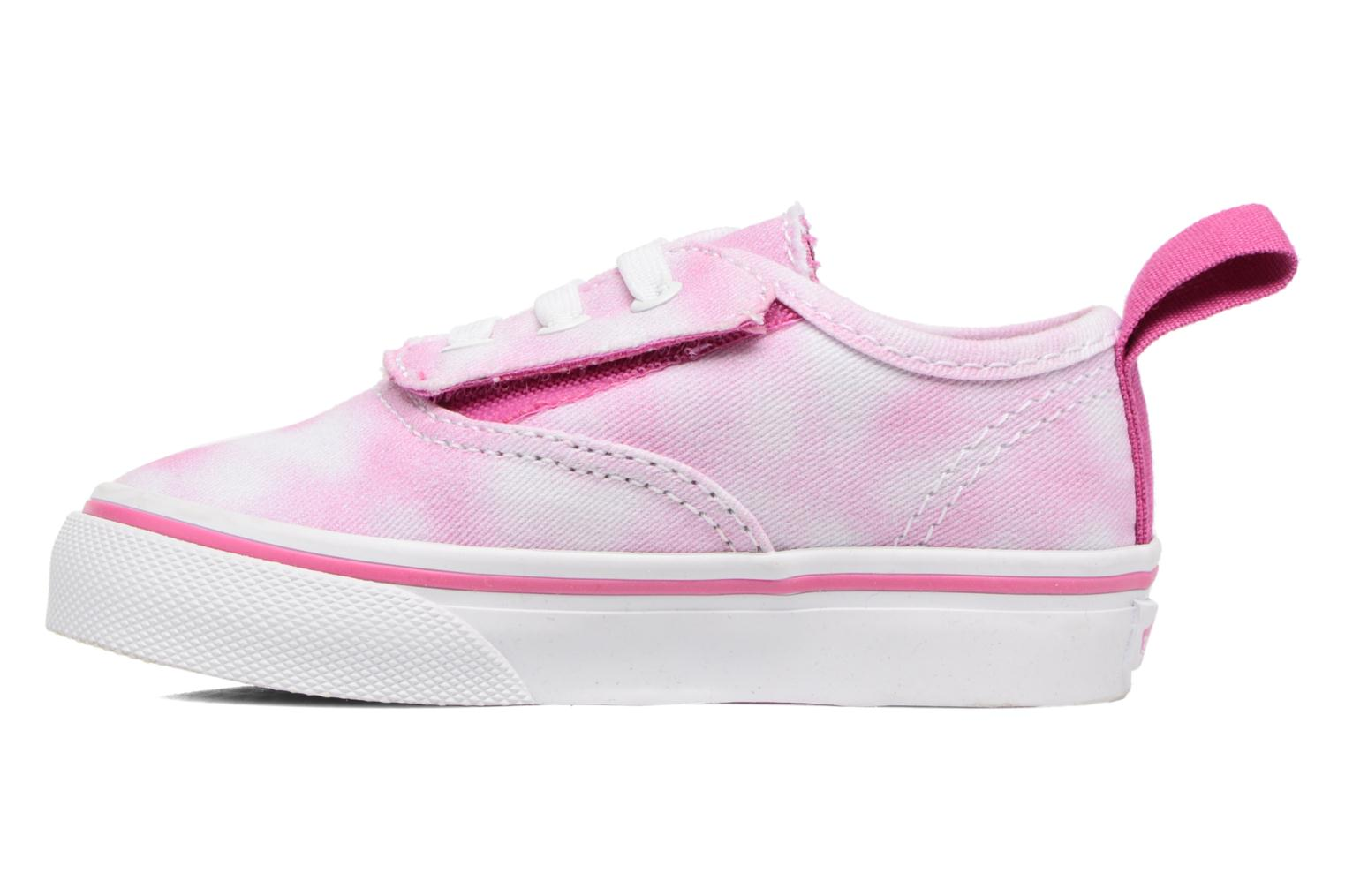 Baskets Vans Authentic V Lace BB Rose vue face