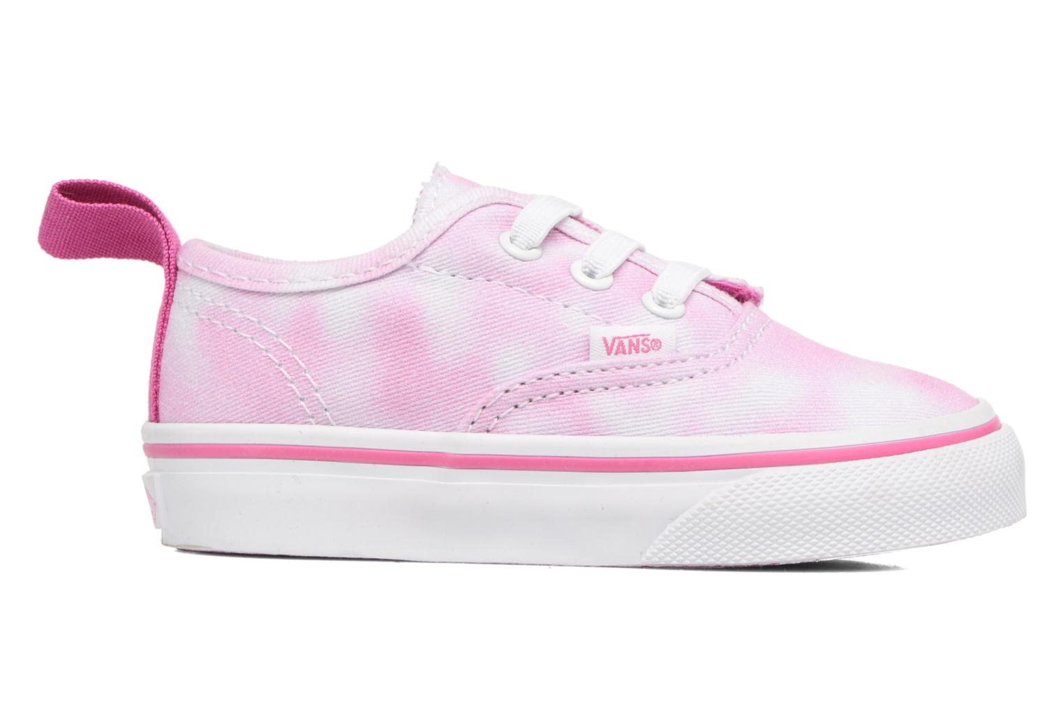 Baskets Vans Authentic V Lace BB Rose vue derrière
