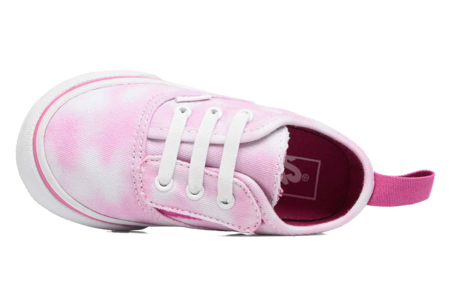 Baskets Vans Authentic V Lace BB Rose vue gauche