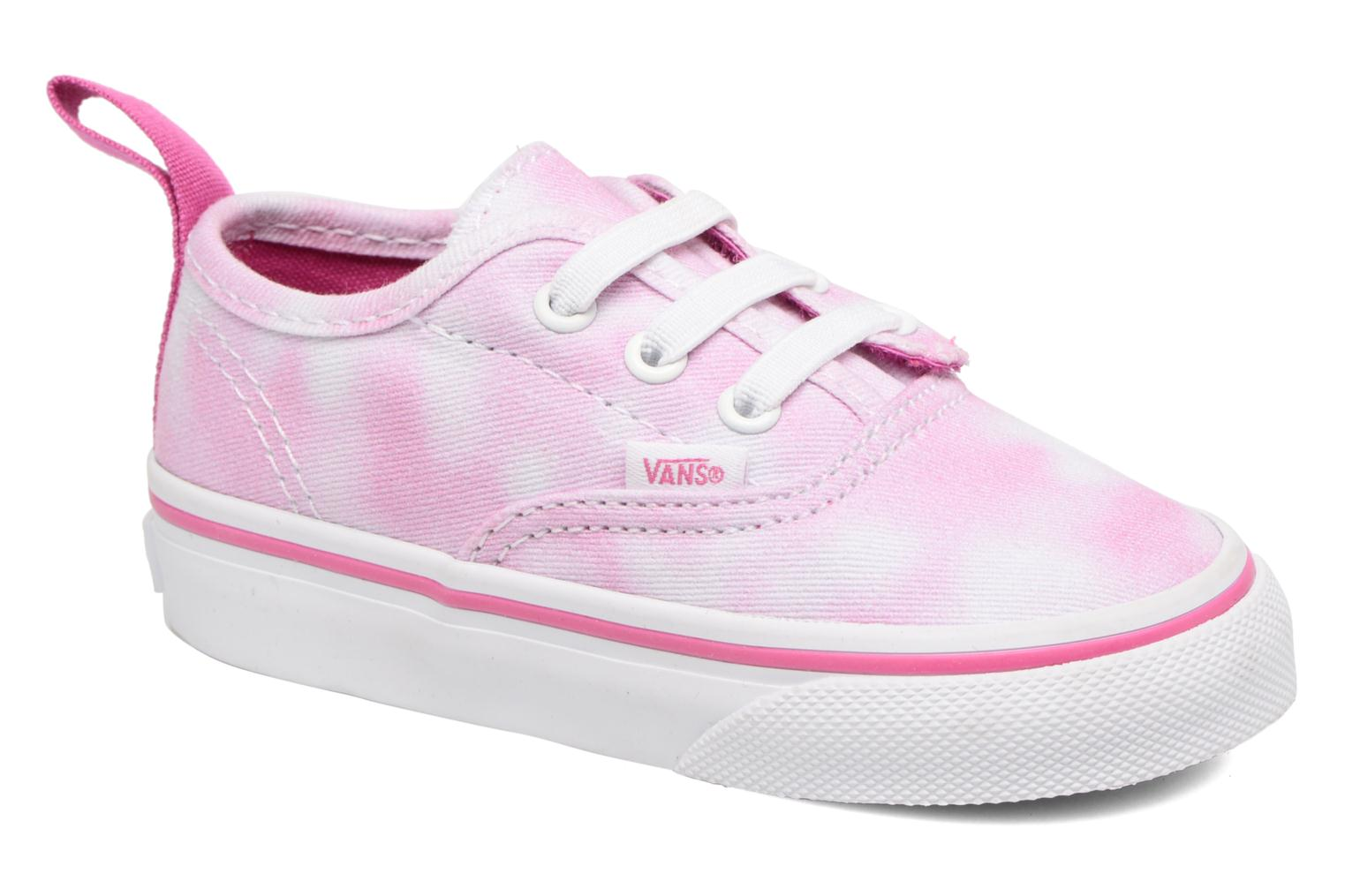 Baskets Vans Authentic V Lace BB Rose vue détail/paire